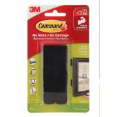 Command Large Picture Hanging Strips Black 4Pk