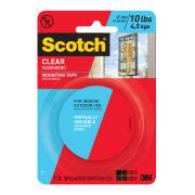 3M 4010 Scotch Mounting Tape Clear 25.4mmx1.51m