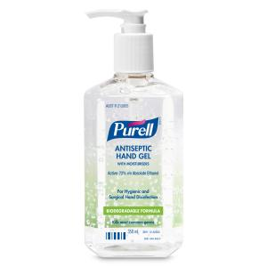 PURELL Hand Sanitiser Gel Pump Bottle 350ml