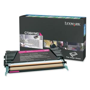 Lexmark C736H1MG Magenta Toner Cartridge