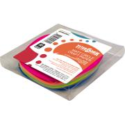 Teter Mek Kinder Craft Paper Circles 120mm Matt Fluoro Assorted Pkt 100
