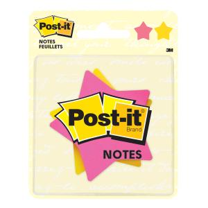post it star shaped sticky notes staples now winc