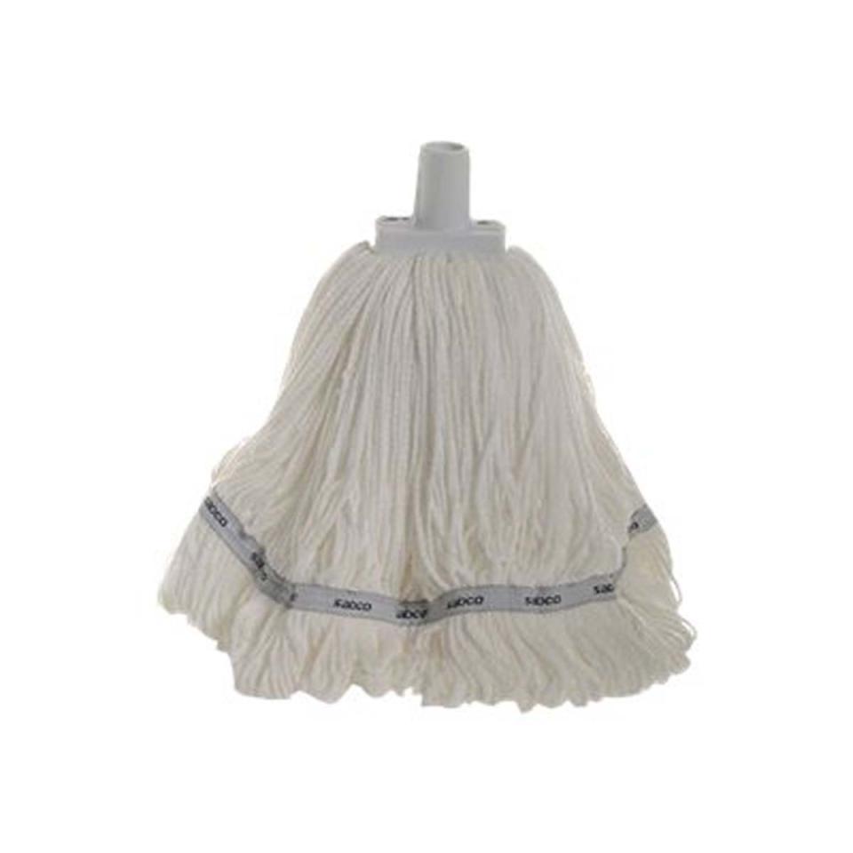Microfibre Round Mop White Sab34054-Wh