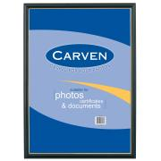 Carven A3 Certificate Frame Black With Gold Trim