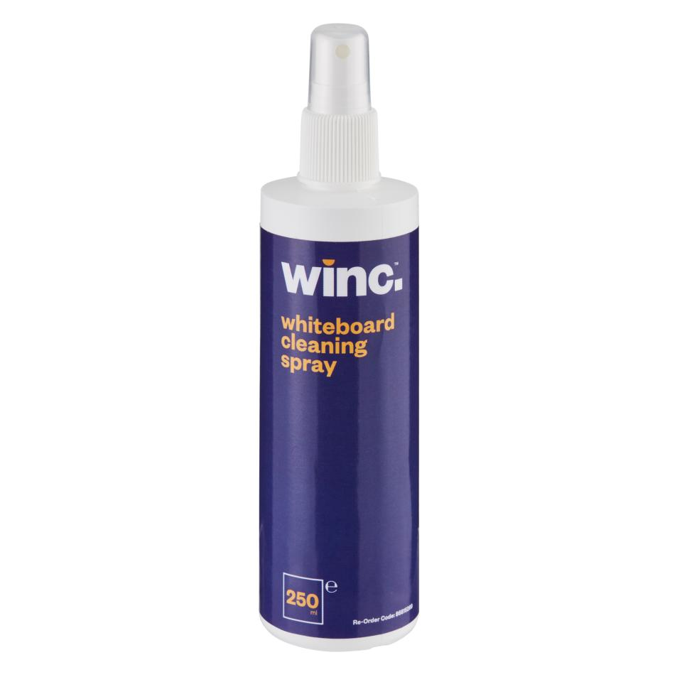 Winc Whiteboard Cleaning Spray 250ml