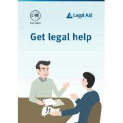 Get Legal Help (Easy English) 12 Page Booklet Ea