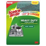 3M Scotch-Brite Scourer Sponge Pack 2