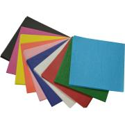 Teter Mek Tissue Paper Squares 250x250mm Assorted Colours Pack 480