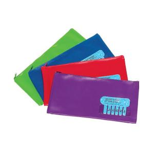 Marbig Pencil Case Name Summer Colour Assorted Large 325mm x 165mm