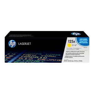 HP LaserJet 125A Yellow Toner Cartridge - CB542A