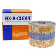 Fix-A-Clear Transparent Adhesive Dressing 5cm X 10m Roll Box 1