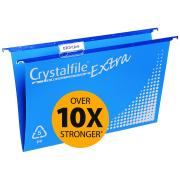 Crystalfile Suspension File 100% Recyclable Blue Pack 20
