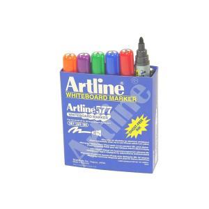 Artline 577 Whiteboard Marker Bullet Assorted Box 12