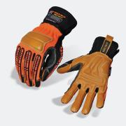 Safetymate Rough Handler Pro Pr-610 Cut 5 Mecdex Glove Orange/Black