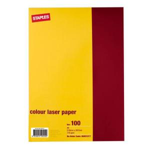 Winc A4 Double-Sided Colour Laser Photo Paper 170gsm White Pack 100