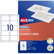 Avery Satin Finish Business cards - 85 x 54 mm - 100 cards - 270 g/m2 (C32026)