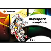 Officemax Minispace Scrapbook 167x245mm 100gsm White 64 Pages