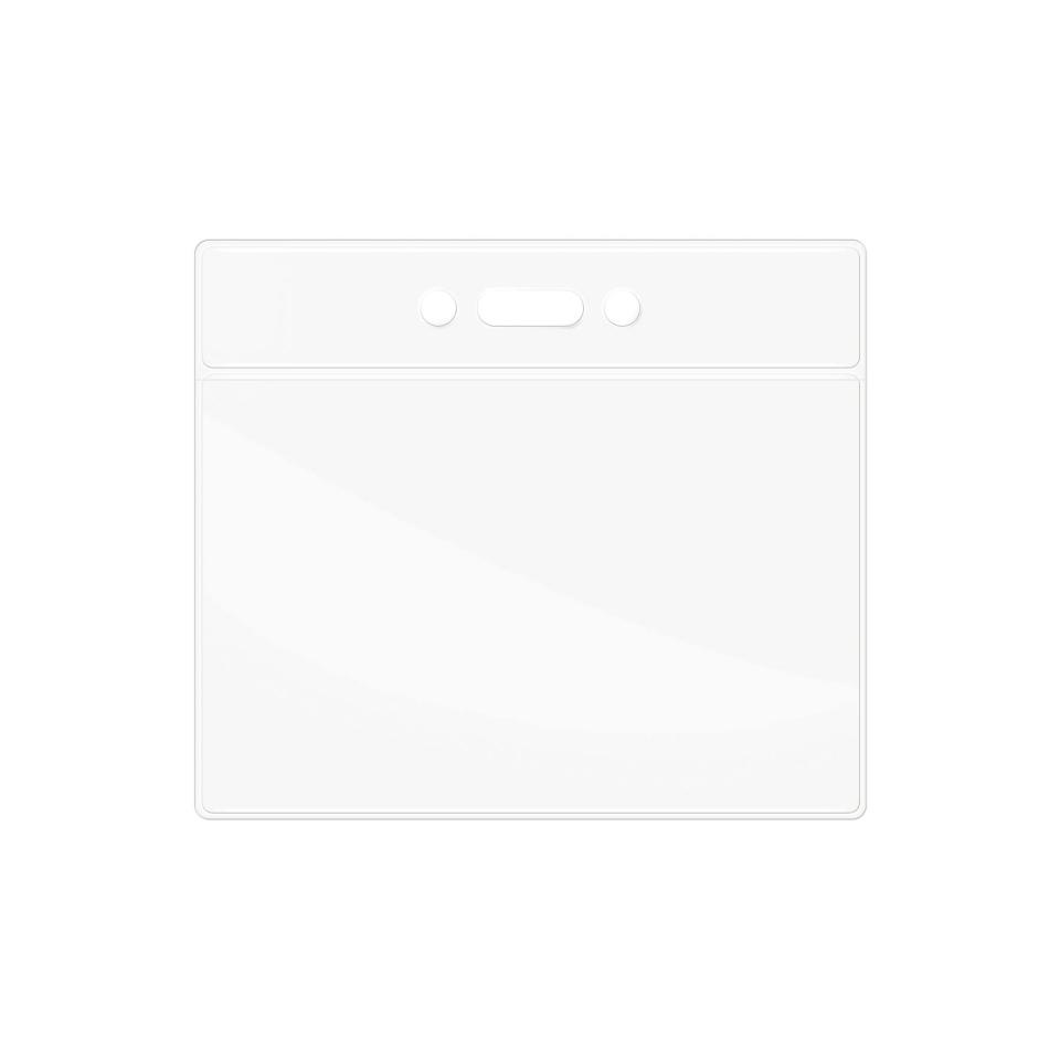 Corporate Express Name Card Soft Plastic Pouches Landscape Pack 10