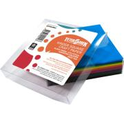 Teter Mek Kinder Craft Paper Squares 127x127mm Gloss Assorted Colours Pkt 360