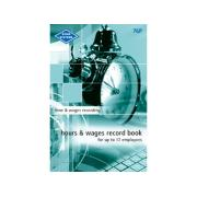 Zions 76P Book Pocket Hours/Wages Book-Was No.1