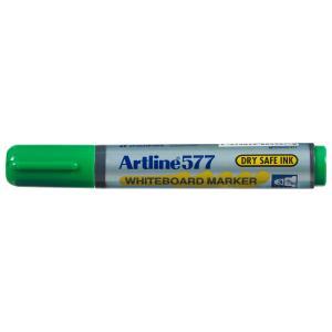 Artline 577 Whiteboard Marker Bullet Tip 2.0mm Green