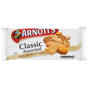 Arnotts Classic Assorted Biscuits 500g