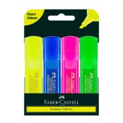 Faber Castell Textliner Ice Highlighter Assorted Wallet 4