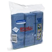 Wypall 83620 Microfibre Cloth Blue Pack of 6