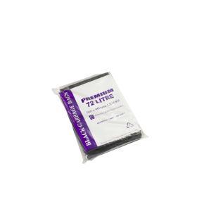 Austar Bin Liners Premium 72 Litre Black Packet 50