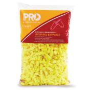 Probell Epyu500R Refill Disposable Uncorded Bell Yellow Class 5 For Dispenser Bag 500 Pairs
