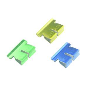 Winc Metal Clip Refill Medium Assorted Metallic Colour Box 50