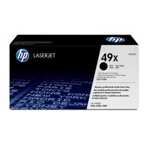 HP LaserJet 49X Black Toner Cartridge - Q5949X