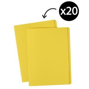 Avery Yellow Manilla Folder - A4 - 320 x 241 mm - 20 Folders