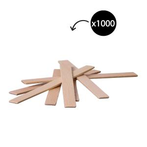 Winc Wooden Stirrers Natural Pack 1000