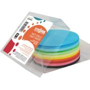 Teter Mek Kinder Craft Paper Circles 120mm Matt Assorted Colours Pkt 500