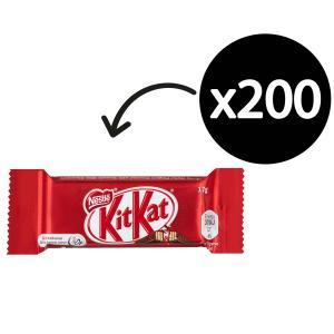 Nestle Kit Kat 17g Carton 200 Pieces (4 x 850g Packets)