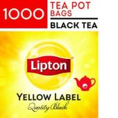 Lipton Yellow Label Quality Black Pot Tea Bags Carton 1000