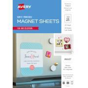 Avery Fridge Magnet for Inkjet Printers - 210 x 297 mm - 30 Magnets (79023 / C9415)