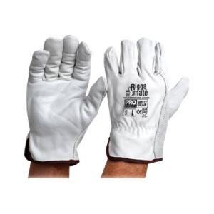 Riggermate Cgl41N Gloves Riggers Cow Grain Natural Pair