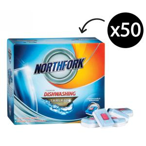 Northfork Chemicals Dishwashing Tablets All In One Box 50