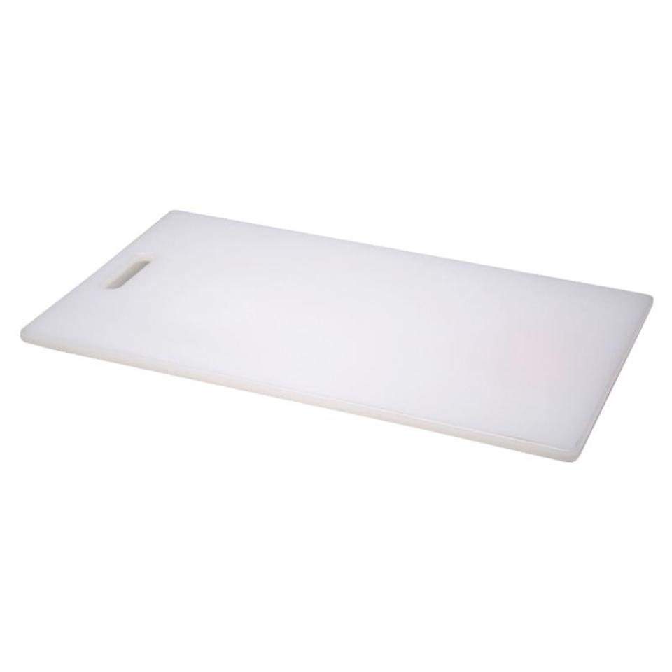 Connoisseur Plastic Chopping Board 235X350mm White