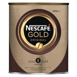 Nescafe Gold Original Instant Coffee 400g Tin