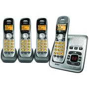 Uniden DECT 1735 + 3 Digital Phone Answering System + 3 Additional Cordless Phone Handsets
