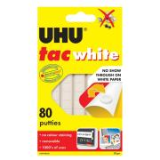 UHU White Tac 80 Putties Carded