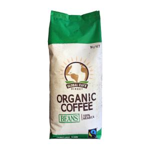 Global Cafe Direct Organic Coffee Beans 1kg