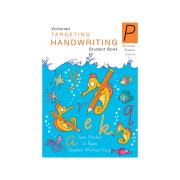 Pascal Press Targeting Handwriting VIC Student Book Prep Jane & Young Pinsker
