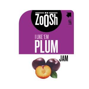 Zoosh Plum Jam Portion Control 13.6g Box 50