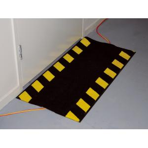 Kenware Cable Safe Mat 500X1000mm Black Yellow