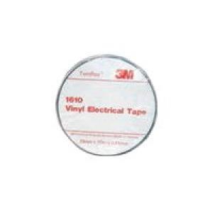 3M 1610 Temflex Elect Tape Black 19mmx20m Pack 10 Image