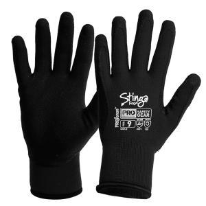 Prochoice Stinga Frost Black Pvc Foam On Nylon Winter Liner Size 9 Pair